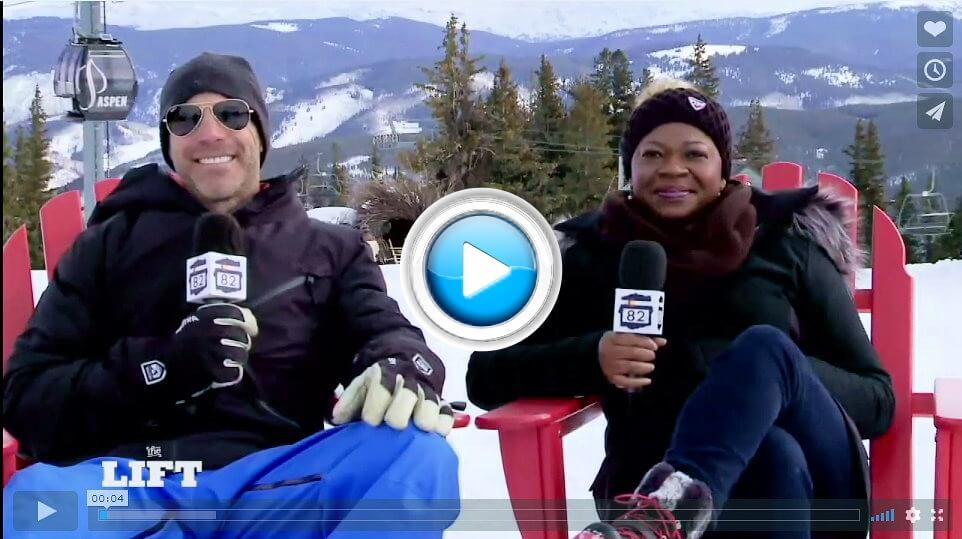 "Watch Mawa McQueen's interview on Aspen 82's ""The Lift"""
