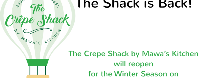 The Crepe Shack by Mawa's Kitchen reopens Wednesday, November 25, 2020