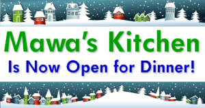 Mawa's Kitcnen Aspen is now serving dinner!